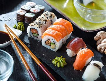 Attenti al sushi